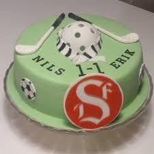 Bildresultat för innebandy tårta