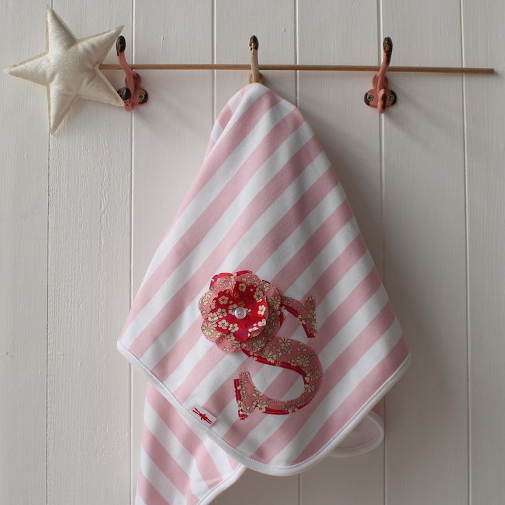 Image of Personalised Baby Blanket