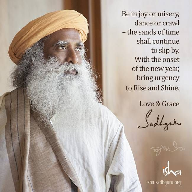 Sadhguru New Year Message 2016