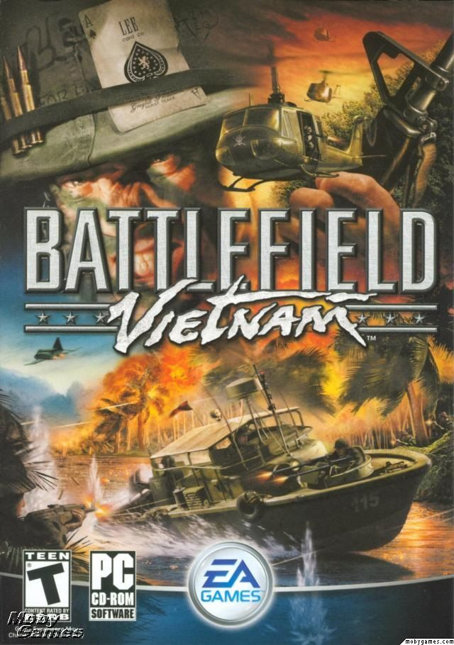 Battlefield Vietnam is the second video game in Electronic Arts' Battlefield franchise after Battlefield 1942. The game was developed by the Swedish company Digital Illusions CE and published by Electronic Arts on March 15, 2004. It is a first-person shooter (FPS) game and features a large variety of maps based on historical settings, such as the Ho Chi Minh Trail, Battle of Hue, Ia Drang Valley, Operation Flaming Dart, The Battle of Khe Sanh and Fall of Saigon.