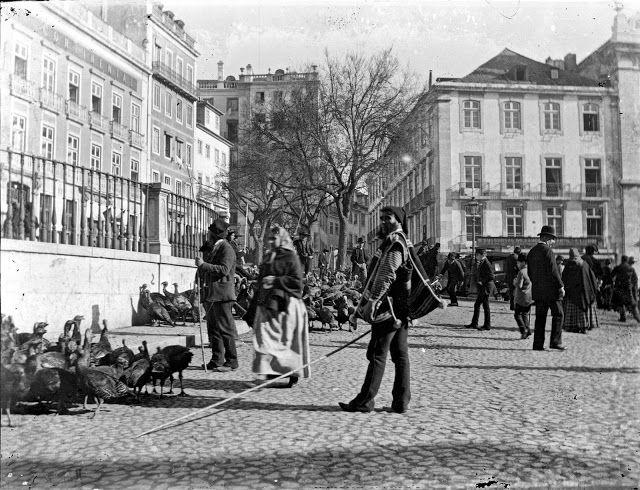 Lisboa de Antigamente: Profissões de Antanho: o vendedor de perus