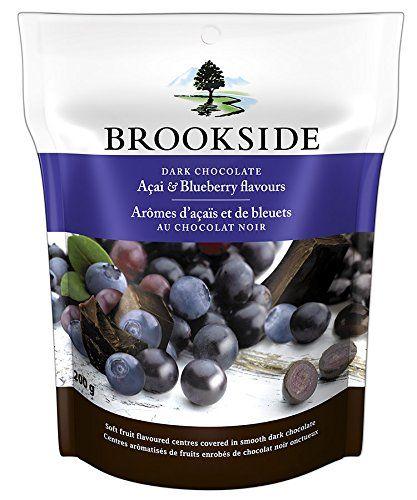 Brookside Dark Chocolate Acai and Blueberry Flavors Candy, 7-Ounce Bag - http://bestchocolateshop.com/brookside-dark-chocolate-acai-and-blueberry-flavors-candy-7-ounce-bag/