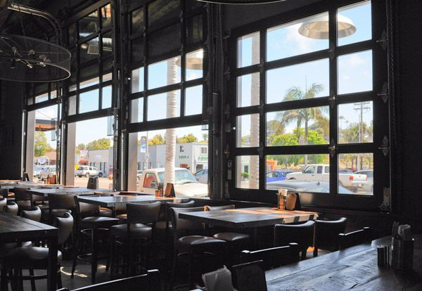 Well, not really for the home. Cool how garage doors are used for the Union Kitchen & Tap restaurant in Encinitas, CA