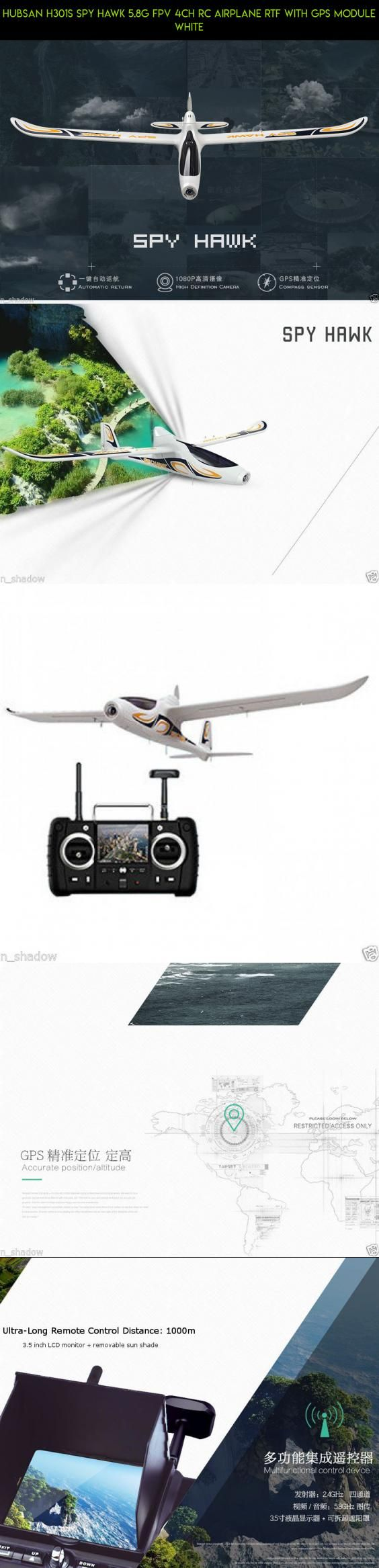 Hubsan H301S SPY HAWK 5.8G FPV 4CH RC Airplane RTF With GPS Module White #products #gadgets #shopping #plans #parts #fpv #tech #spy #hubsan #hawk #technology #drone #kit #camera #racing