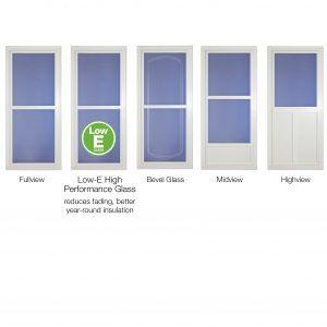 Front Door Screen Door Combo