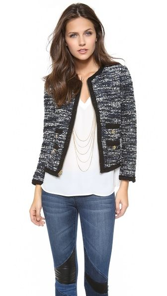 Juicy Couture Clara Tweed Jacket-In love with these jackets