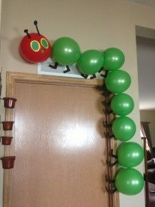 cute decorations... perfect for a Hungry hungry caterpillar party!