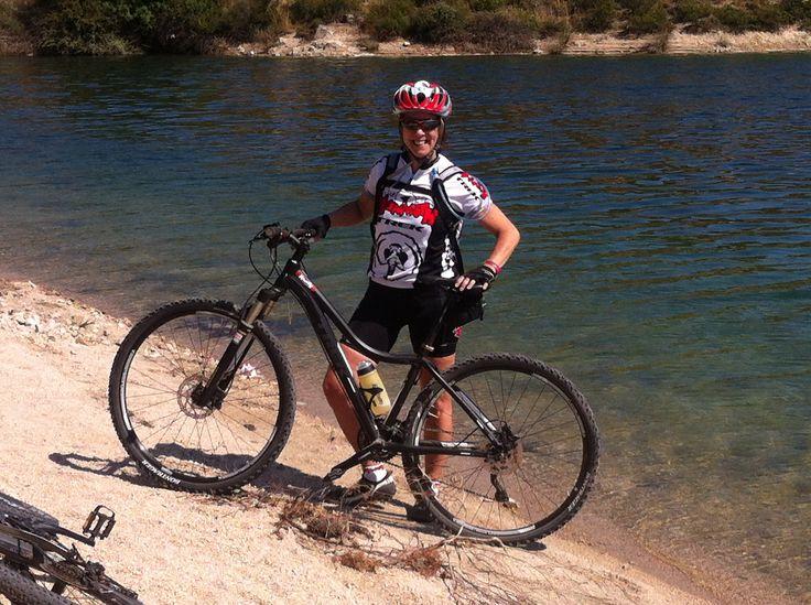 el Atazar Con mi Bici TREK CALI SL