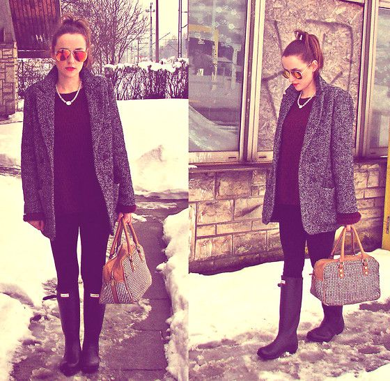 Where the F*ck is Spring?? (by Mia Tosia) http://lookbook.nu/look/4681497-Where-the-F-ck-is-Spring