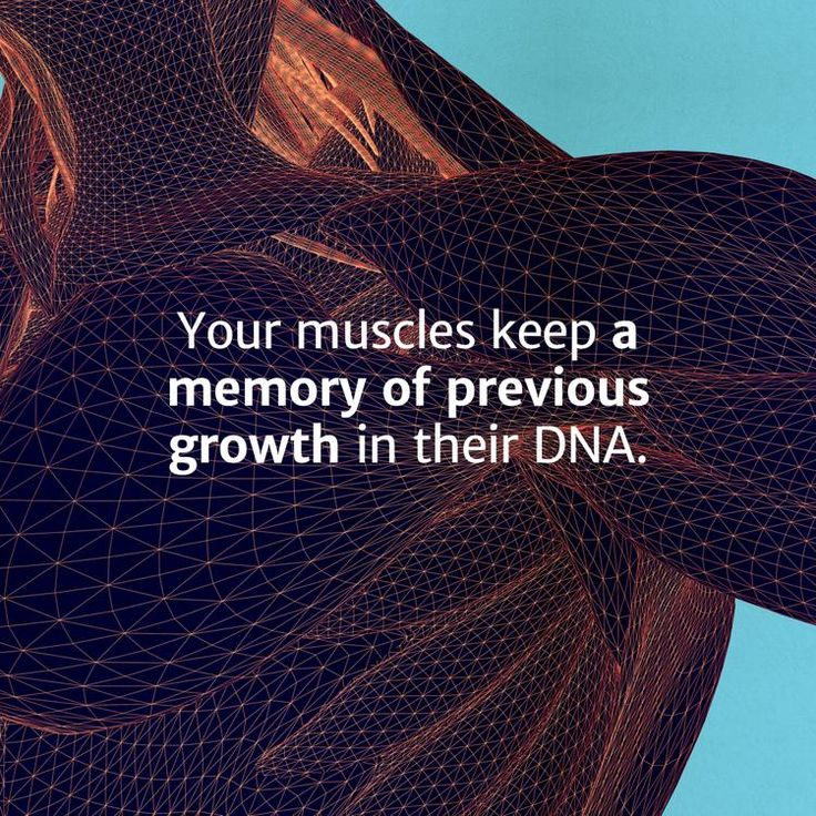 Muscle Memory is Real, and That's Good News for Everyone