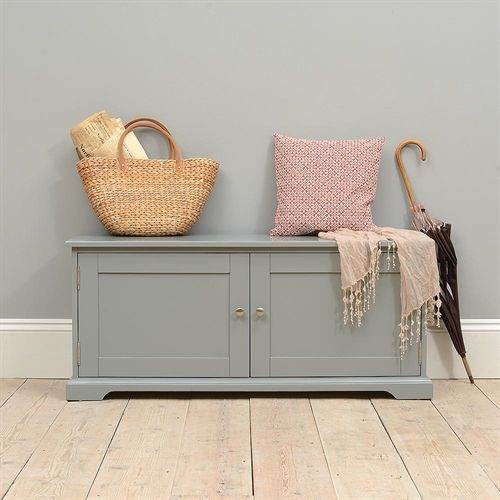 middleton painted shoe bench with doors grey including free delivery find this pin and more on shoe storage benches