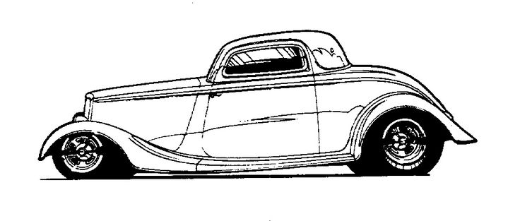 174 best hotrod clip art images on pinterest