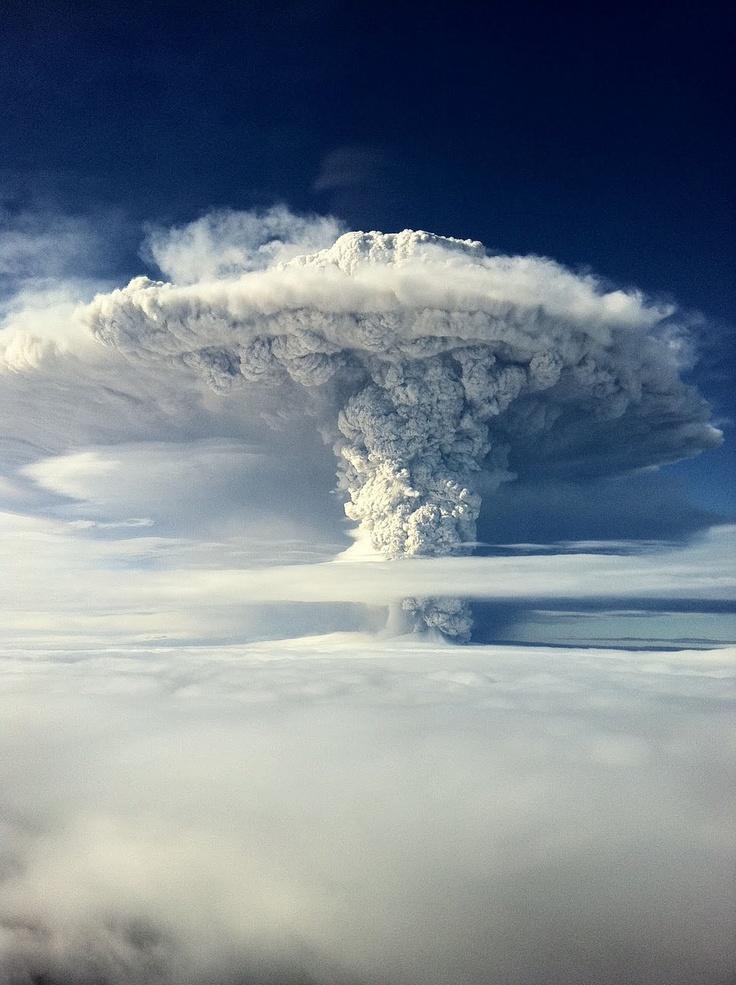 Puyegue Volcano Eruption