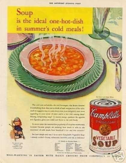 Campbell   s Veg...1930s Food