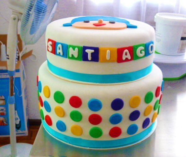 Pocoyo cake by Taï--, via Flickr