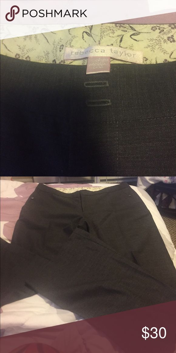 Rebecca Taylor slacks Brown slacks Rebecca Taylor Pants Trousers