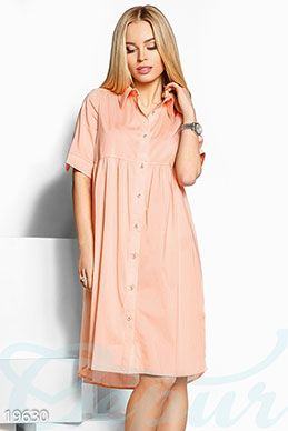 Легкое платье рубашка фото 1