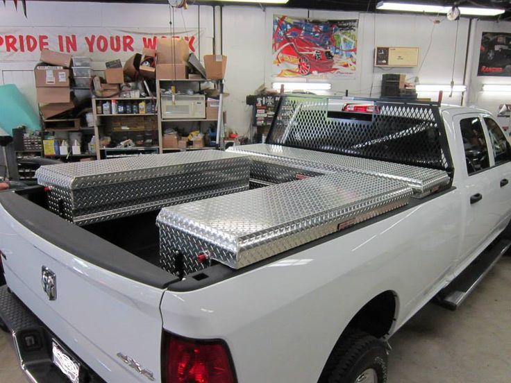 Truck Bed With Storage