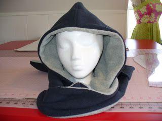Schnittmuster Scoodie Mix aus Mütze und Schal