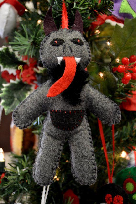 Krampus Christmas Tree Ornament Wenn S Weird Creations