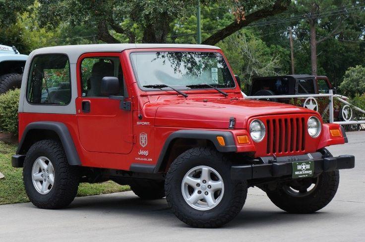 2003 Jeep Wrangler $0 http://www.selectjeeps.com/inventory/view/9782692