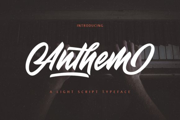 Anthem (Off 50%) by Surotype on @creativemarket