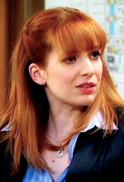 Katherine Parkinson As Jen Barber In The It Crowd With -5233