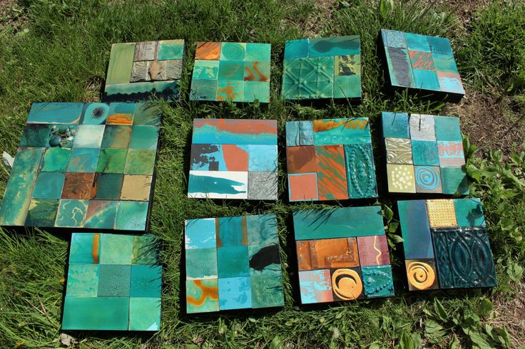 Best on Etsy Turquoise Skystone Abstract MidCentury Art Modern 9 in. Mixed Media Tile Collages Reclaimed Recycled Eco-Friendly Glazed Wood by TinExpressions on Etsy https://www.etsy.com/listing/490375659/best-on-etsy-turquoise-skystone-abstract