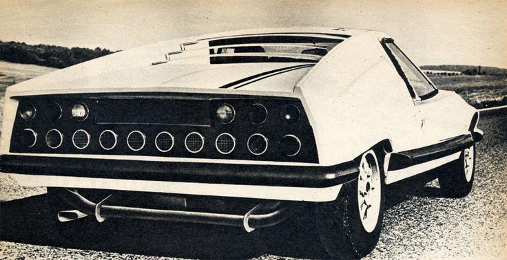 1970 Škoda 110 GT.