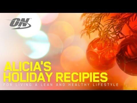 Alicia Harris' High-Protein Holiday Recipes