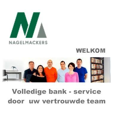 Tandem Nagelmackers en wij:Het team van Verzekeringswinkel Hubrecht is trots u te kunnen meedelen dat wij vanaf heden samenwerken met Nagelmackers en u zo terug een volledige bank-service kunnen aanbieden.