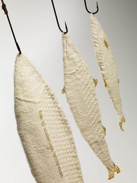 knit fish!