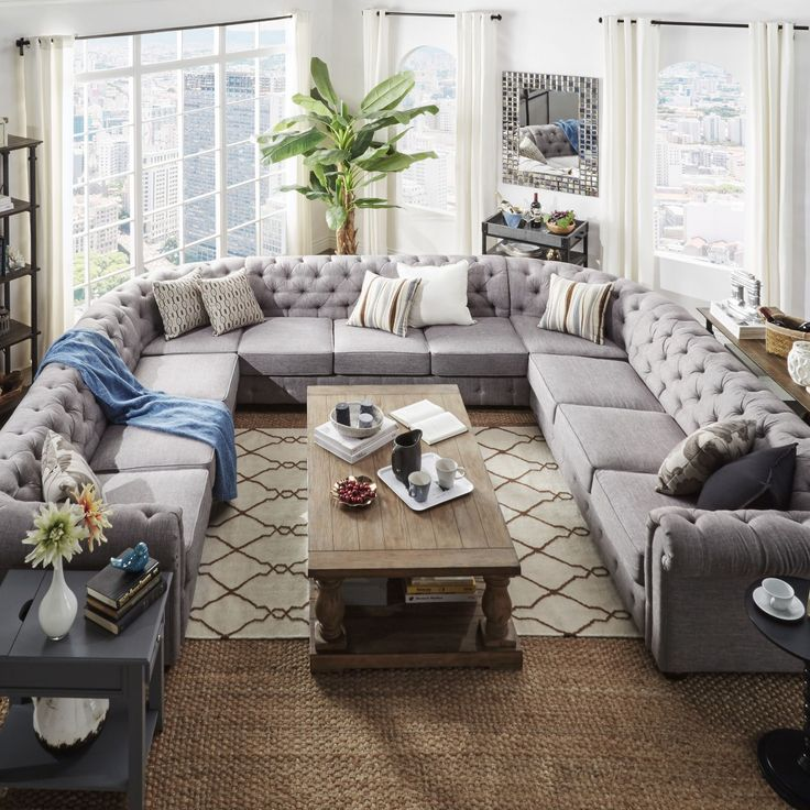 Luxurious Comfort In This Knightsbridge Home Renovation: 17 Best Ideas About Sectional Sofas On Pinterest