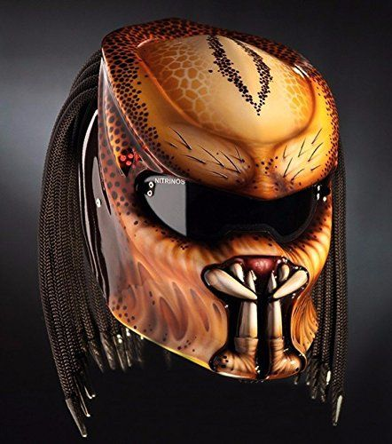 PREDATOR HELMET CUSTOM COLOR DOT APPROVED TRI LASER-SIZE ... https://www.amazon.com/dp/B077R6RY21/ref=cm_sw_r_pi_dp_x_sLUhAbBGBMMCS
