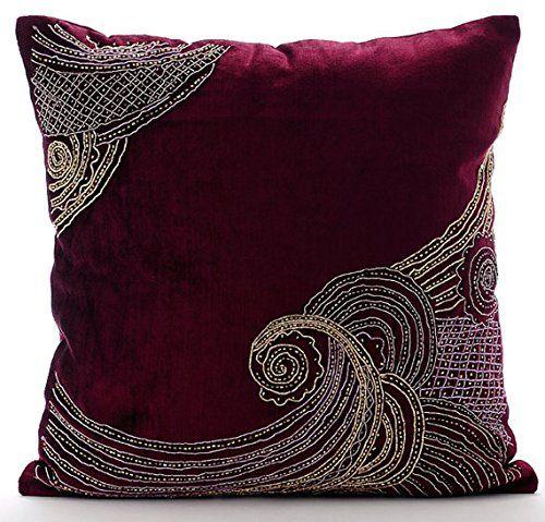 Handmade Purple Cushion Cases, Zardozi Sparkly Glitter Cu... https://www.amazon.co.uk/dp/B016460KPS/ref=cm_sw_r_pi_dp_x_i6CazbM6XRZCS