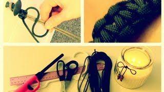 DIY: Paracord Bracelet (Valentine's Day Gift for Him!), via YouTube.