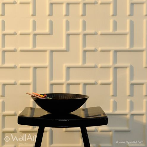 23 best 3D Wallpanels designs images on Pinterest | 3d wall panels ...