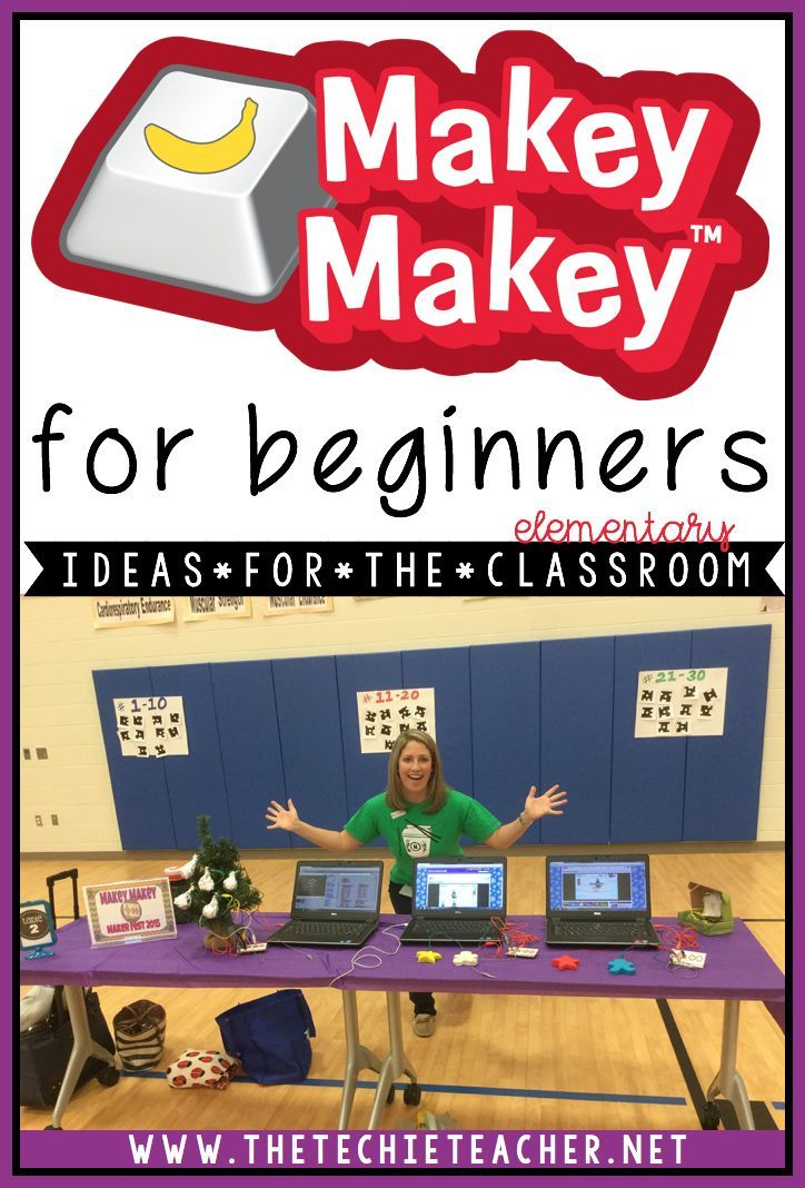Academic Ways to Use the MaKey-MaKey in the Elementary Classroom: Fun ways to advance coding in the classroom!