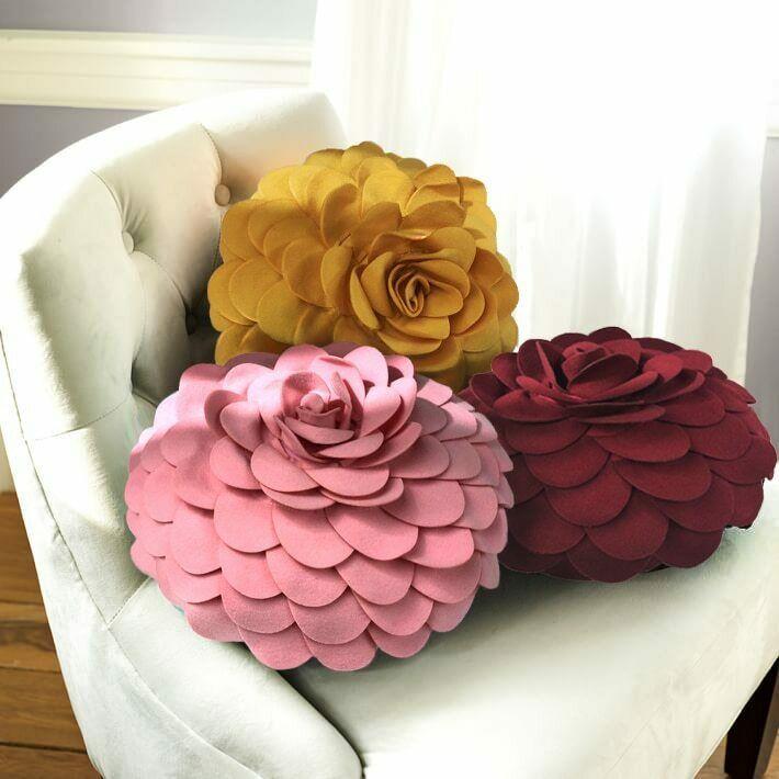 Handmade Round Shape Cushion Pillow
