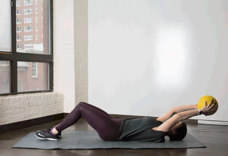 1. Med Ball Crunch #medicineball #abs #workout http://greatist.com/move/core-exercises-medicine-ball?utm_source=Sailthru&utm_medium=email&utm_content=story3_image&utm_campaign=daily_newsletter_2016-02-29_mails_daily_new_header?utm_source=pinterest&utm_medium=social&utm_campaign=onsiteshare You're gonna have a ball with these.