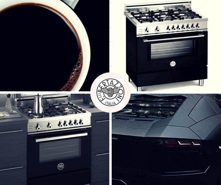 #bertazzoni #black #nero #range #italy #Lamborghini