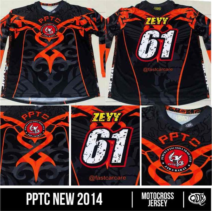 Motocross jersey PPTC Jabar