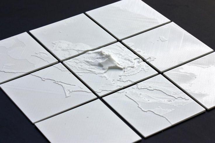 Quake! Man 3D Prints USGS Earthquake Data for Last Month's Napa Quake & it's Earth Shattering http://3dprint.com/14474/3d-printed-earthquake-napa/