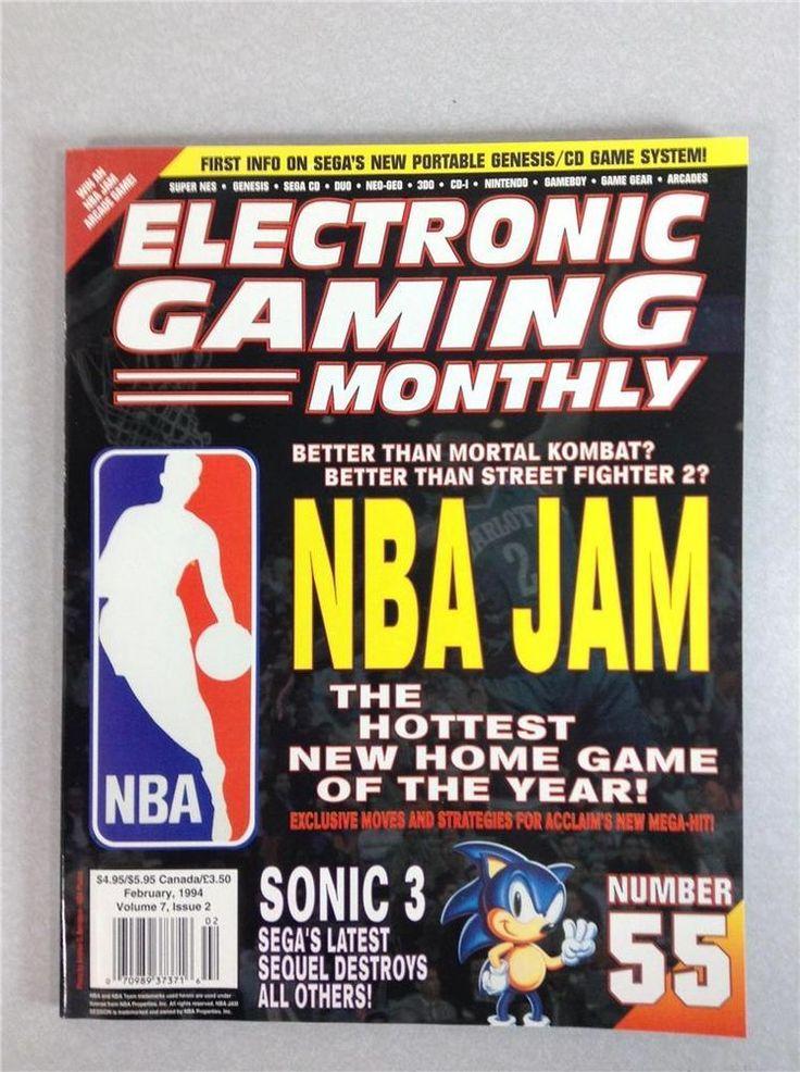 Electronic Gaming Monthly #55 Sealed 1994 Volume 7 Issue 2 Gaming Magazine EGM