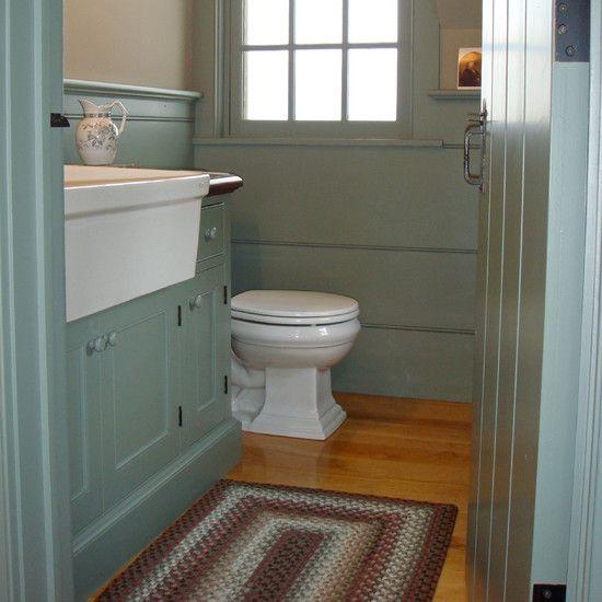 73 best primitive bathrooms images on pinterest for Colonial bathroom ideas