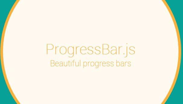 ProgressBar.js – Beautiful and responsive progress bars