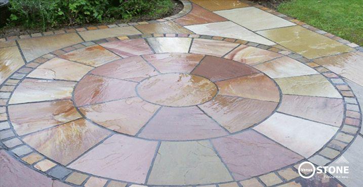 Circle Patio Sets - Autumn Brown