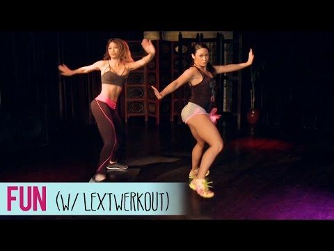 Pitbull - Fun ft. Chris Brown (Dance Fitness Routine with LexTwerkOut) - YouTube