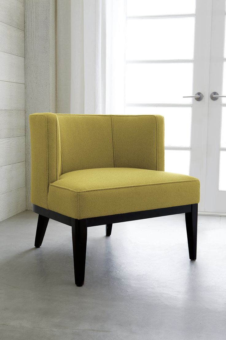 Grayson barrel chair makes a statement  upholstered in chunky  wool like  fibers in. 206 best mid mod design images on Pinterest   Bali blinds  Custom