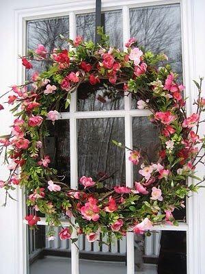 Lovely Spring Door Wreath...